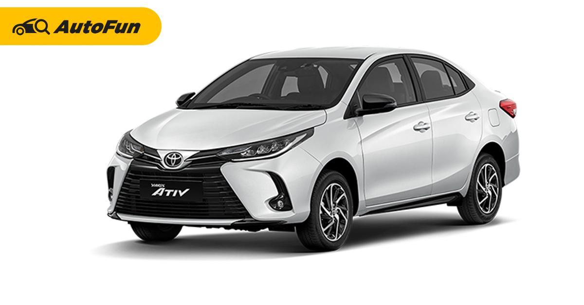 5 เหตุผลถ้าจะซื้อ 2020 Toyota Yaris Ativ ควรเลือกตัวท็อป พร้อมแนวทางดาวน์-ผ่อน 01