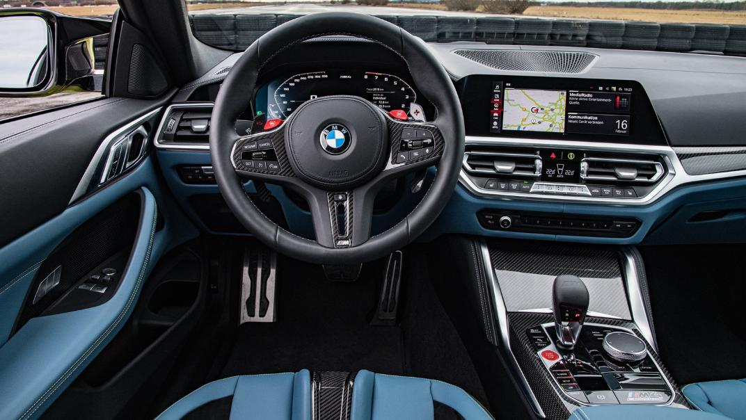 2021 BMW M4 Coupe Competition Interior 003
