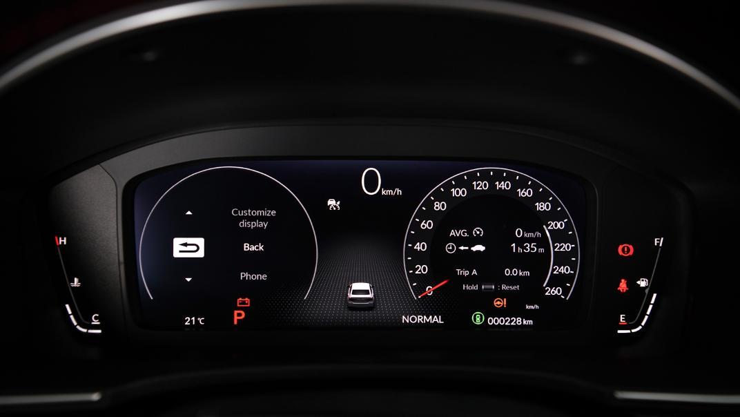 2022 Honda Civic RS Interior 017