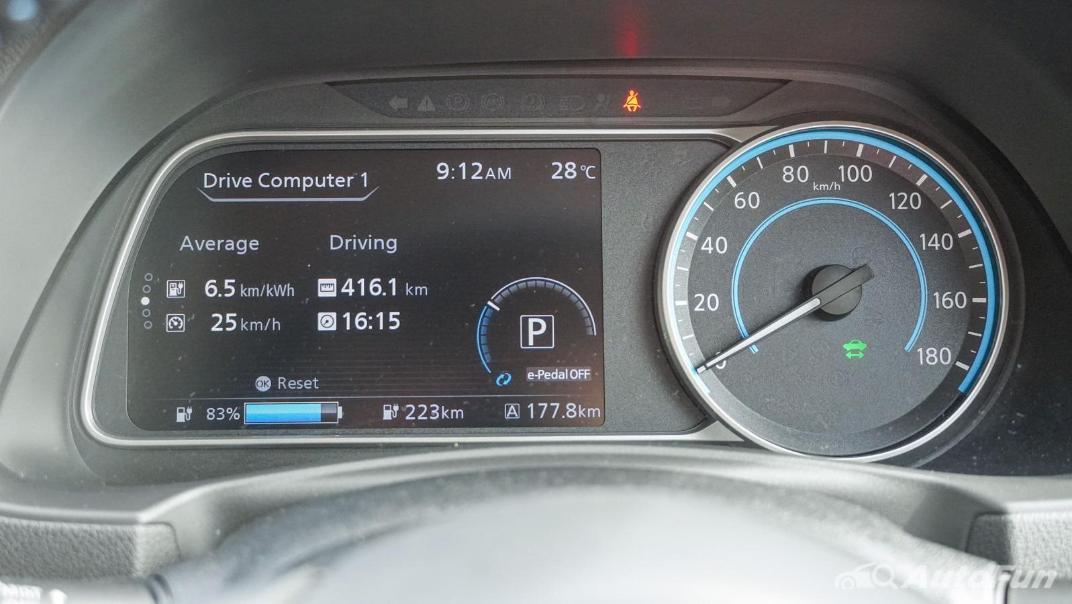 2020 Nissan Leaf Electric Interior 004