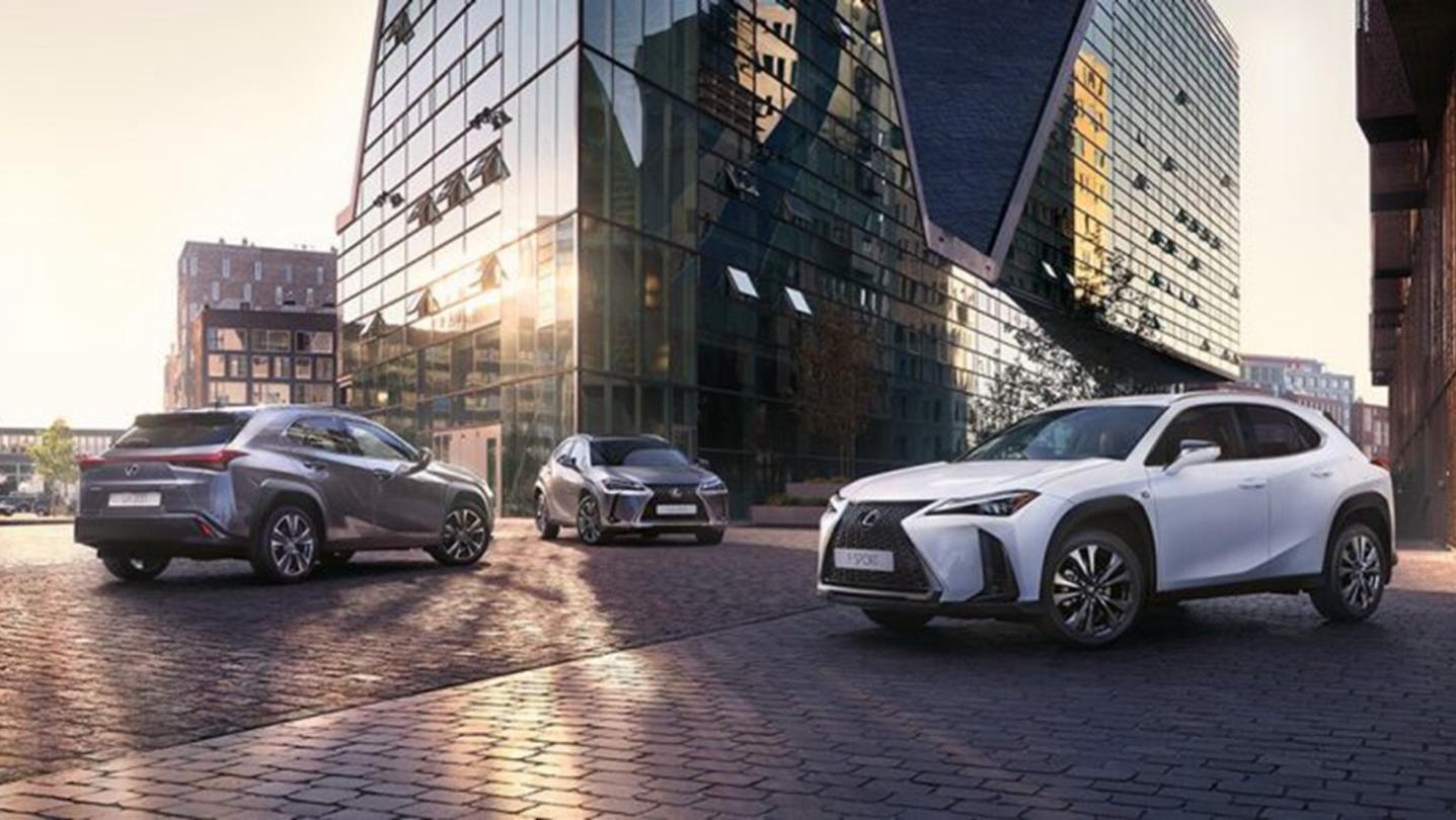 Lexus UX 2020 Exterior 004