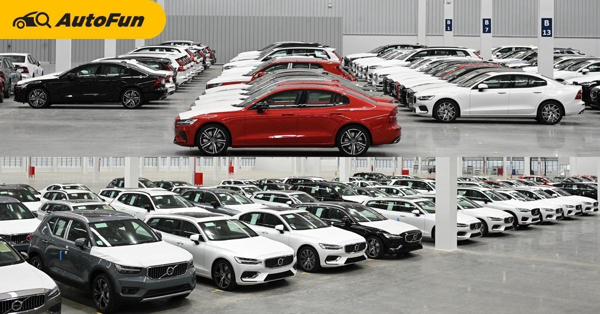 Volvo ไม่ยอมตากแดด ลงทุนพันล้าน สร้างโกดังสต็อครถ 550 คัน พร้อมห้องแอร์แช่อะไหล่ในไทย 01