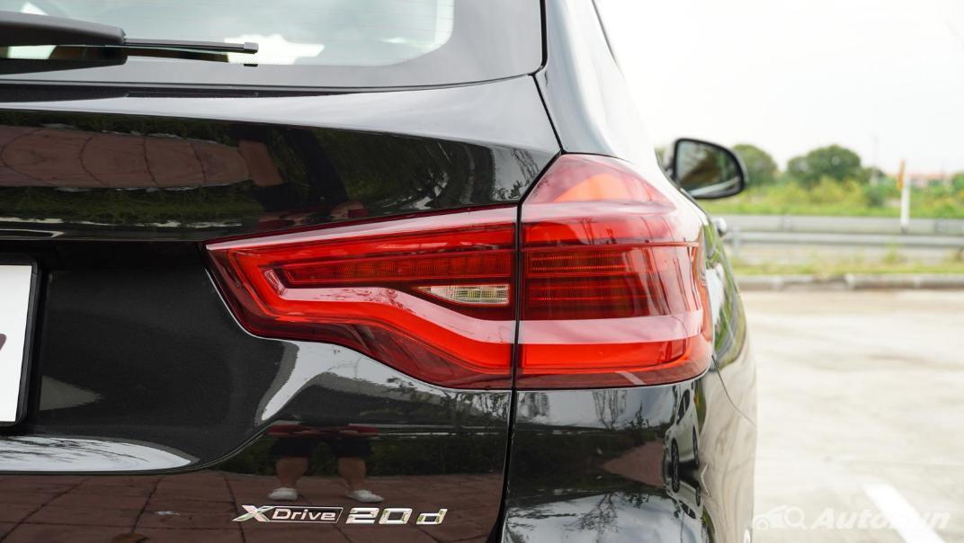 2020 2.0 BMW X3 xDrive20d M Sport Exterior 020