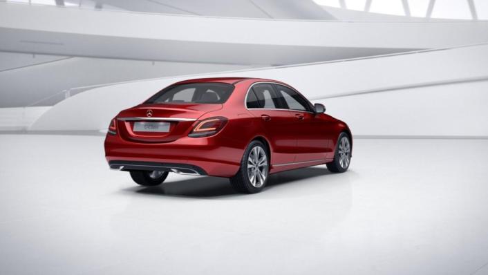 Mercedes-Benz C-Class Saloon Public 2020 Exterior 002