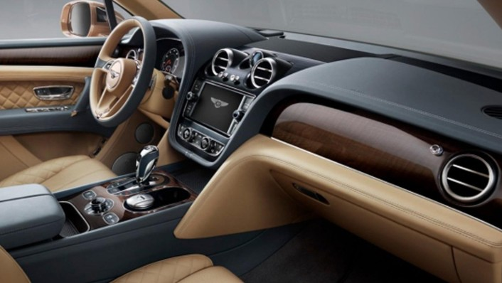 Bentley Bentayga 2020 Interior 002