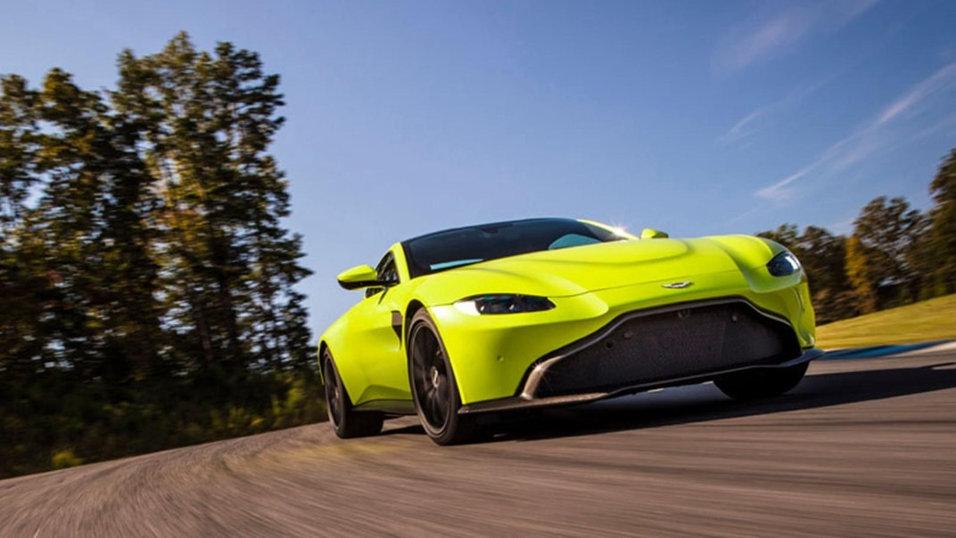 Aston Martin V8 Vantage Public 2020 Exterior 005