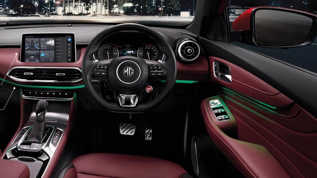 MG HS 2020 Interior 001