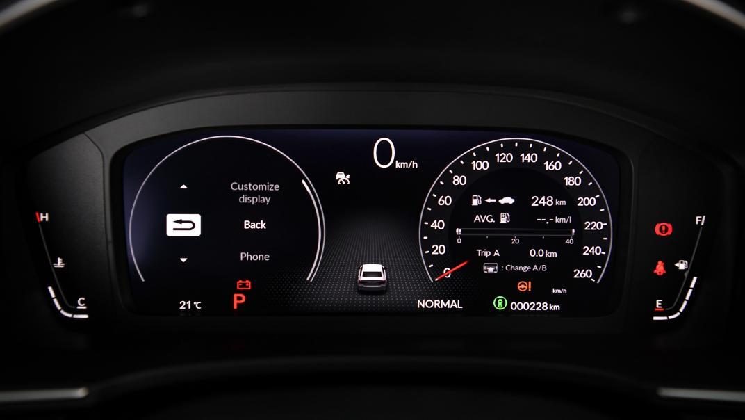 2022 Honda Civic RS Interior 034