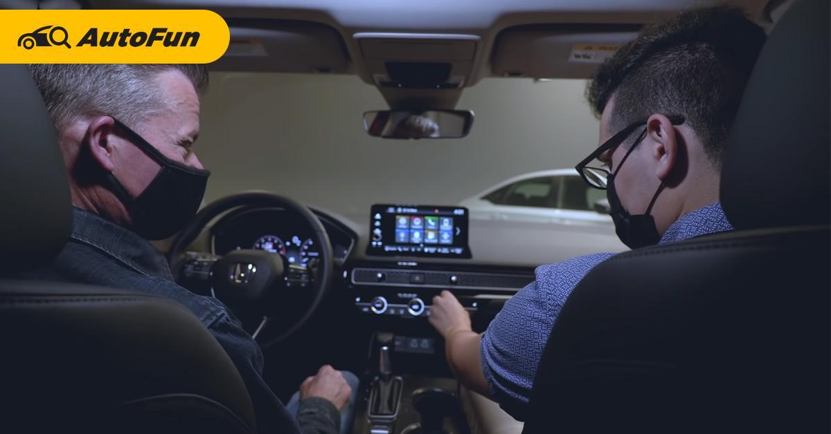 วีดีโอพาชม 2022 Honda Civic ใหม่ ชัดเจนทุกฟังก์ชั่น ใครคิดจับจองไม่ควรพลาดชม! 01