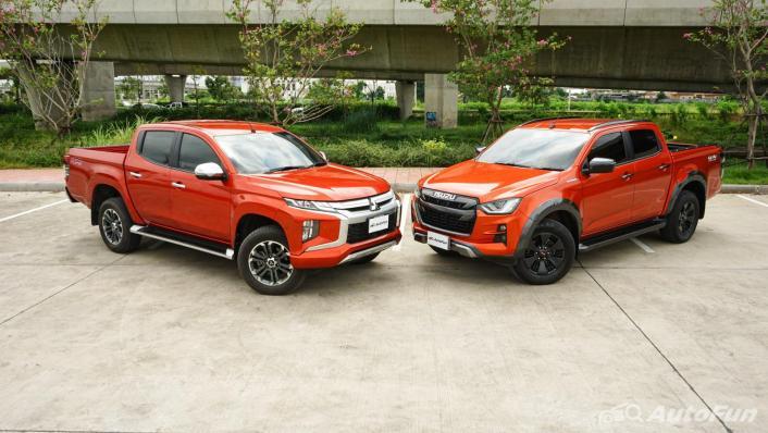 2020 Mitsubishi Triton Double Cab 4WD 2.4 GT Premium 6AT Exterior 010