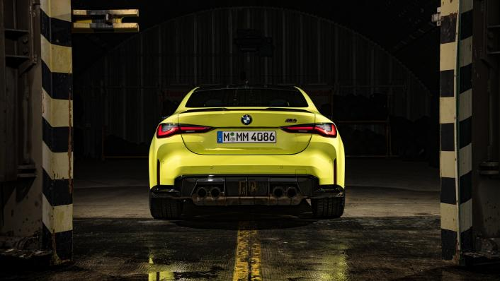 2021 BMW M4 Coupe Competition Exterior 006