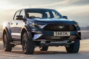 2020 Ford Ranger Raptor เรนเดอร์โฉมใหม่ ฉูดฉาดสุดแรง ด้วยหน้า Mustang แปลงมา