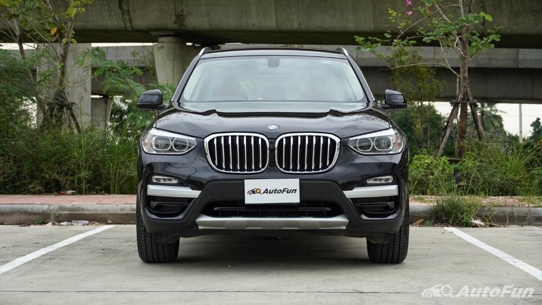 2020 2.0 BMW X3 xDrive20d M Sport Exterior 002