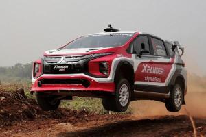 เริ่มทดสอบ Mitsubishi Xpander AP4 ครอสโอเวอร์เอ็มพีวีตัวแข่งแรลลี่คันแรกของโลก