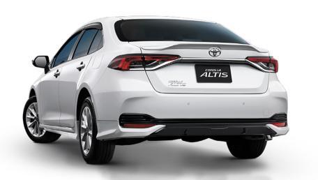 2021 Toyota Corolla Altis 1.8 Sport ราคารถ, รีวิว, สเปค, รูปภาพรถในประเทศไทย | AutoFun