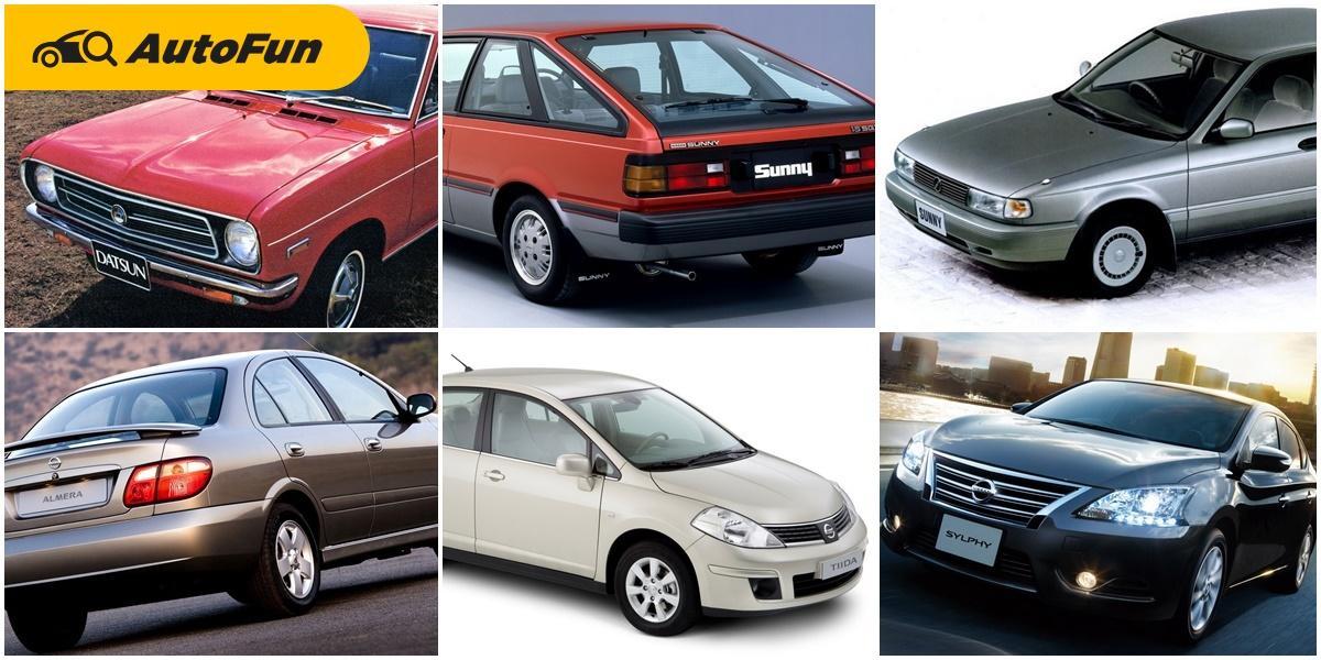 เจาะเวลากับบอริส Nissan Sunny Sentra Tiida และ Sylphy คอมแพคที่แสนดี 01