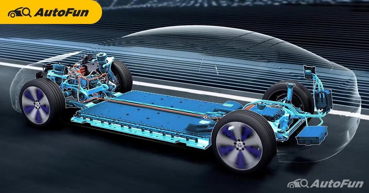 Mercedes-Benz 2025 หักดิบเดินหน้าพัฒนาแพลตฟอร์มเฉพาะยานยนต์ไฟฟ้าตั้งแต่ปี 2568 01