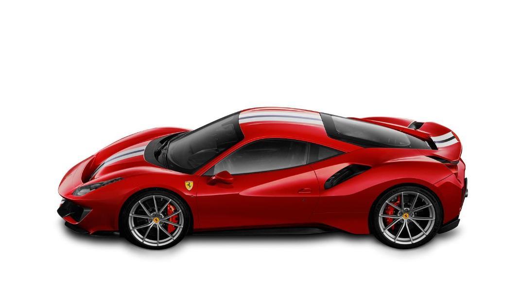 2020 Ferrari 488 Pista 3.9 V8 Exterior 002