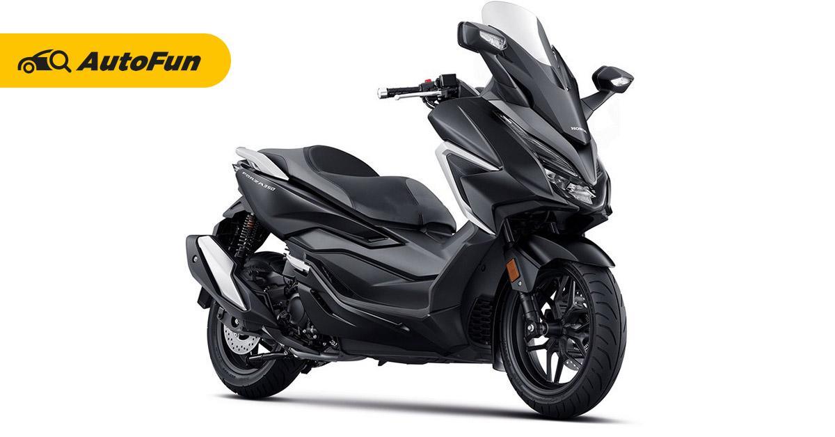 Review : Wild-Motorcycles เปิดตัว 2020 New Honda Forza 350 อัพเครื่องยนต์ใหม่ 01