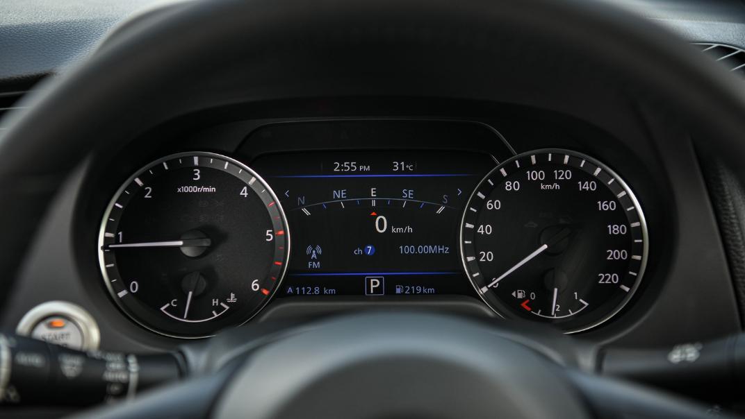 Nissan Navara 2021 Interior 025