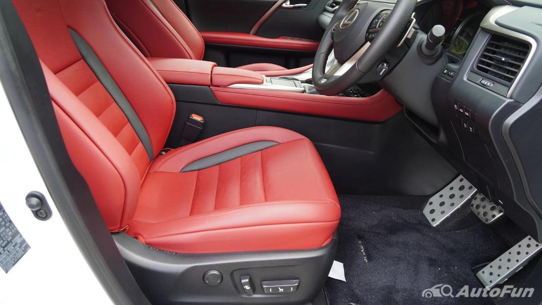 2020 Lexus RX 3.5 350 F Sport Interior 038
