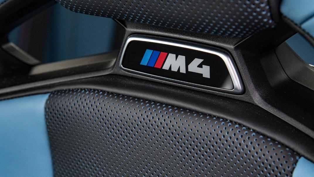 2021 BMW M4 Coupe Competition Interior 006