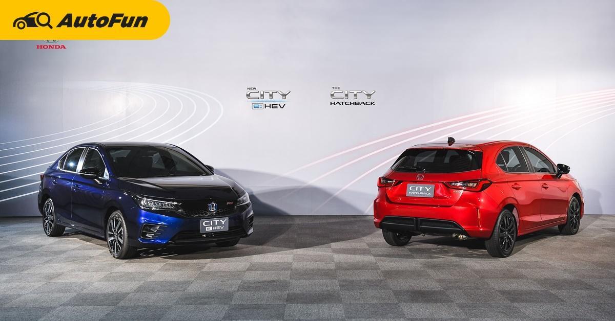 Honda เตรียมส่งรถไฮบริดหลากรุ่นลุยตลาดไทย คาด HR-V, CR-V และ Civic นำทัพ 01
