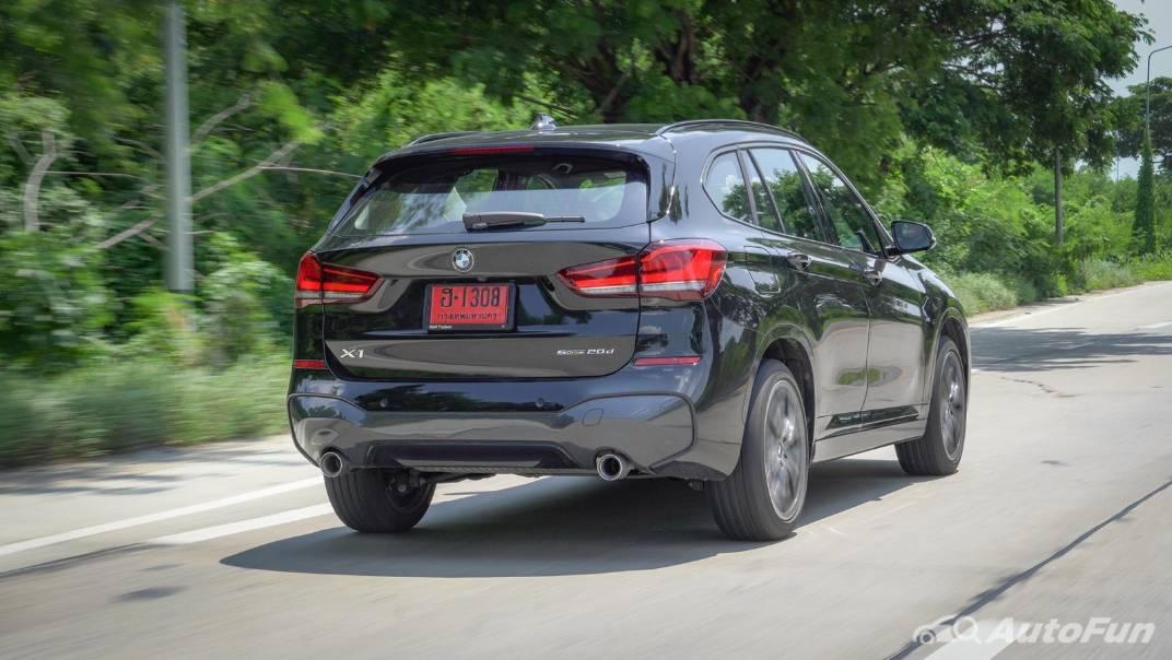 2021 BMW X1 2.0 sDrive20d M Sport Exterior 050