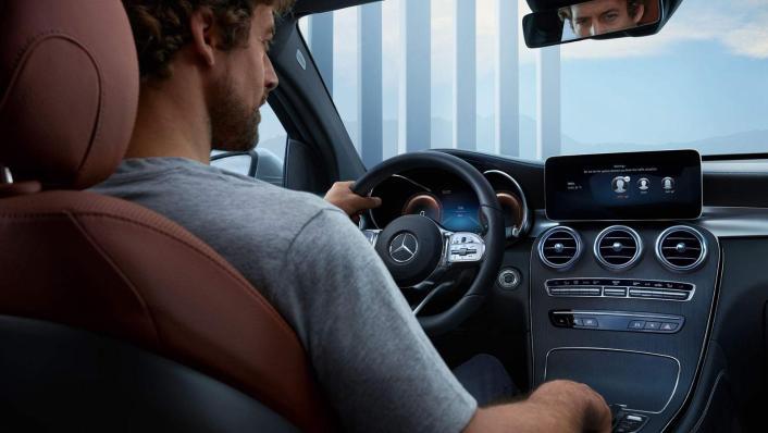 Mercedes-Benz GLC-Class Coupe 2020 Interior 005