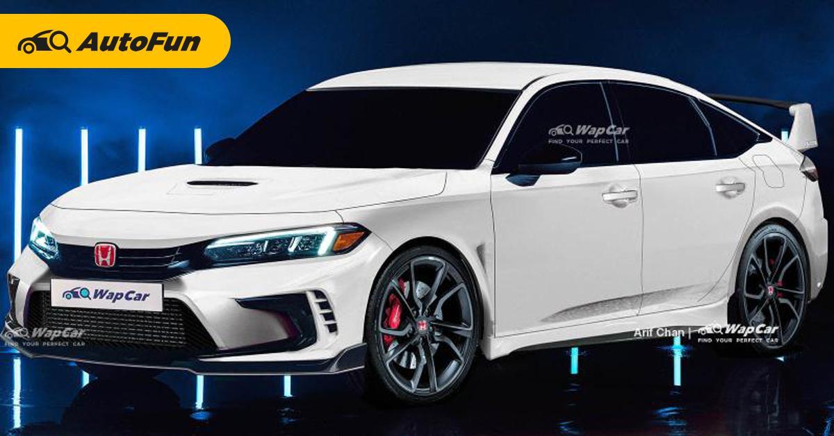 เปิดภาพเรนเดอร์ 2022 Honda Civic Type R เติมเต็มความสปอร์ตแบบวัยกลางคน? 01