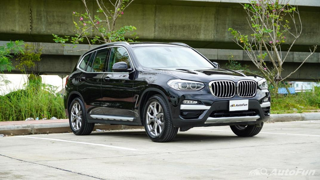 2020 2.0 BMW X3 xDrive20d M Sport Exterior 003