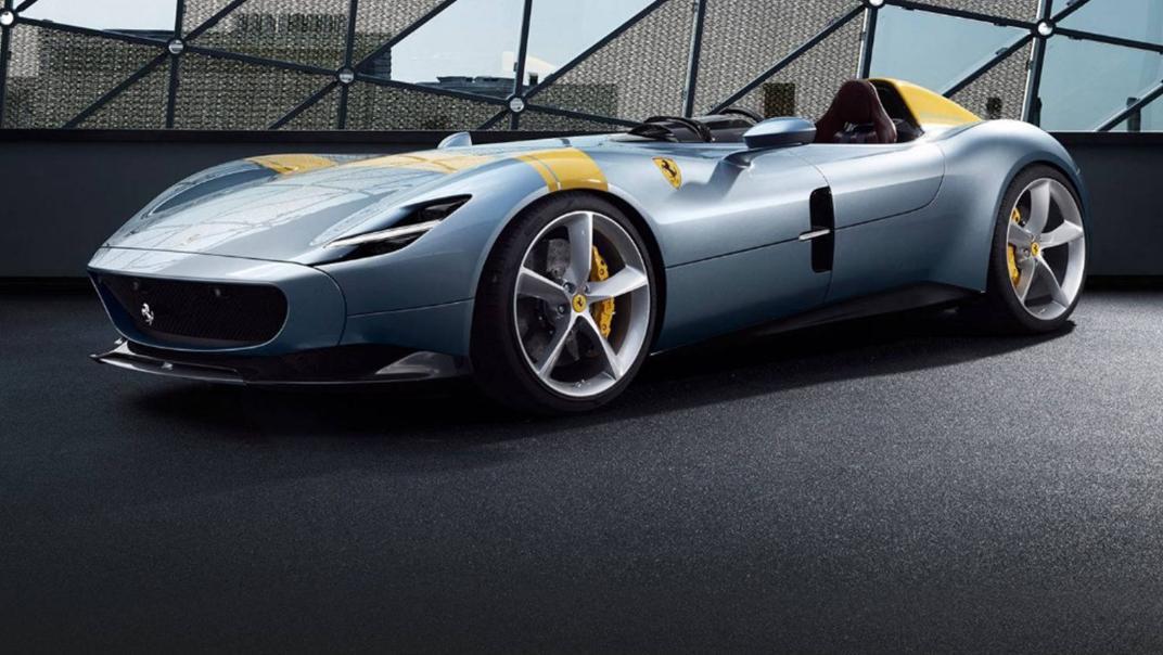 2020 Ferrari Monza SP1 V12 Exterior 007