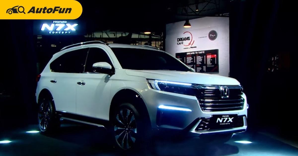 Honda Indonesia เปิดตัวรถต้นแบบ 7 ที่นั่ง N7X Concept ร่างทรง BR-V ใหม่ 01