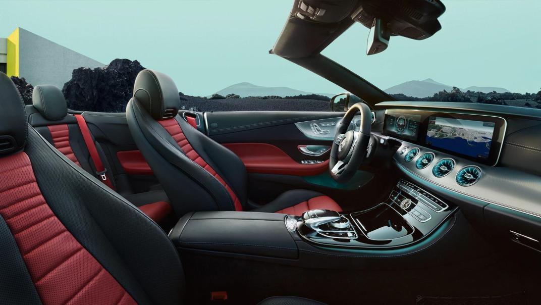 Mercedes-Benz E-Class Cabriolet 2020 Interior 001