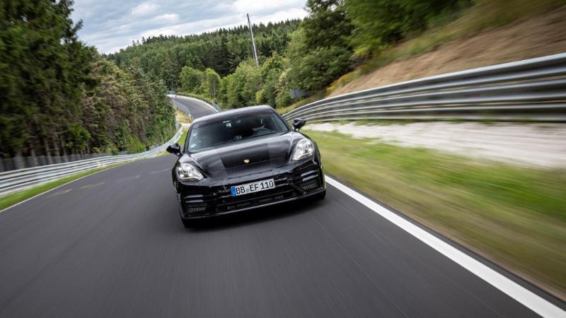 2021 Porsche Panamera ทำสถิติใหม่ วิ่งสนาม 20 กม.ใช้เวลาแค่ 7 นาทีนิดๆ 02