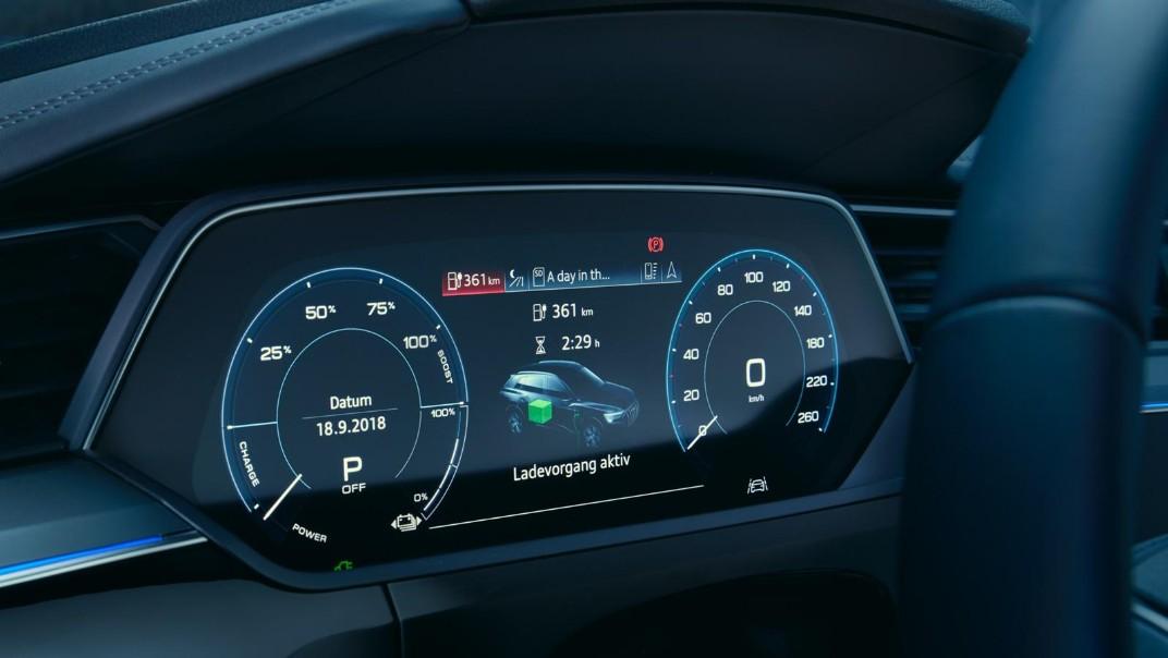 Audi E Tron 2020 Interior 004