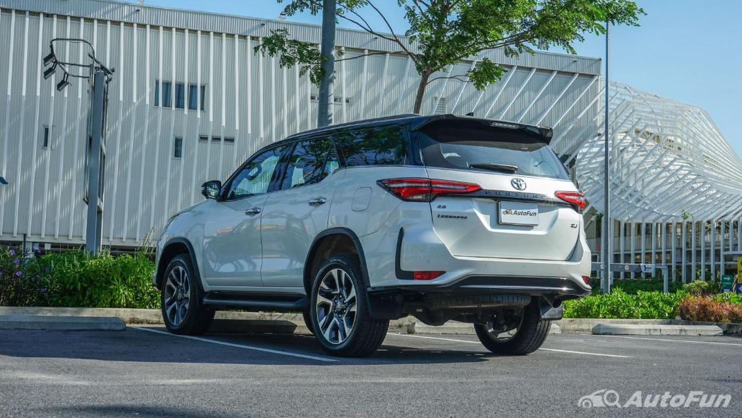 2020 Toyota Fortuner 2.8 Legender 4WD Exterior 007