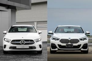 เทียบรถหรูรุ่นเล็กหลัก 2 ล้านบาท เลือก Mercedes-Benz A-Class หรือ BMW 220i Gran Coupe?