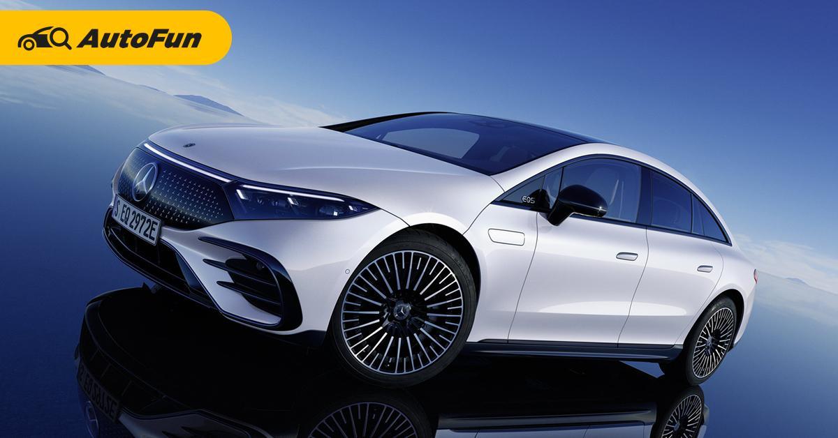 ฟังเหตุผล ทำไมรถล้ำ ๆ อย่าง 2022 Mercedes-Benz EQS ยังใช้กระจกมองข้างแบบดั้งเดิม 01