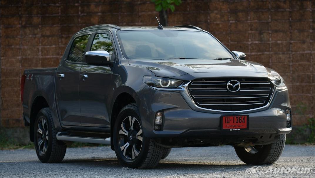 2021 Mazda BT-50 Pro Double Cab 3.0 SP 6AT 4x4 Exterior 001