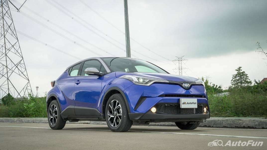 2021 Toyota C-HR Hybrid Premium Safety Exterior 001