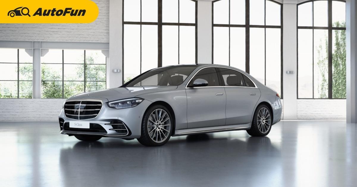 2021 Mercedes-Benz S-Class รุ่นประกอบไทย 2 รุ่นย่อย เคาะค่าตัว 6.69-7.19 ล้านบาท ส่งมอบอีก 2 เดือนข้างหน้า 01