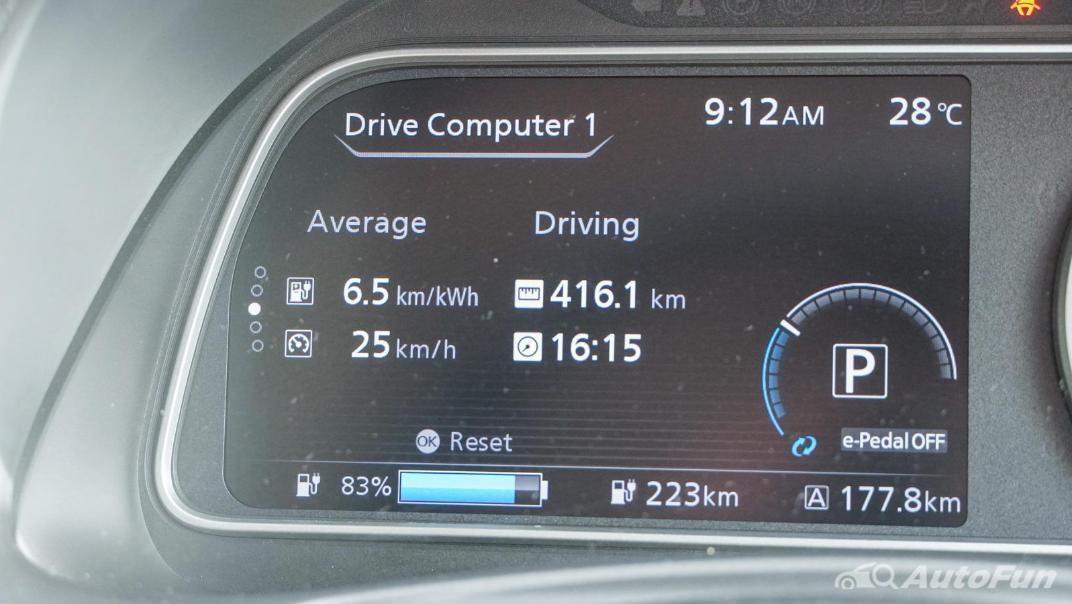 2020 Nissan Leaf Electric Interior 006