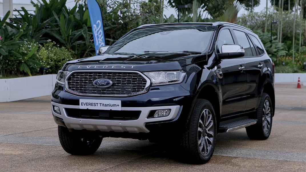 2021 Ford Everest Titanium+ Exterior 001