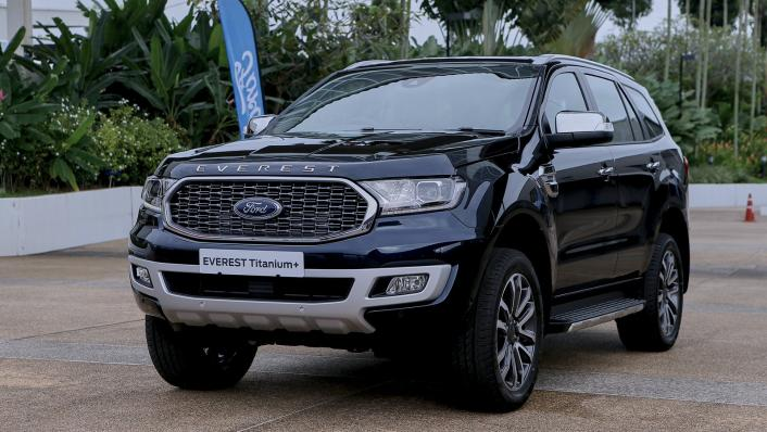 2021 Ford Everest Titanium+ Exterior 001