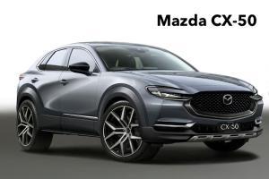 เตรียมเปิดตัว 2021 Mazda CX-50 จะทำการตลาดเหนือคู่แข่ง Honda CR-V ได้ไหม?