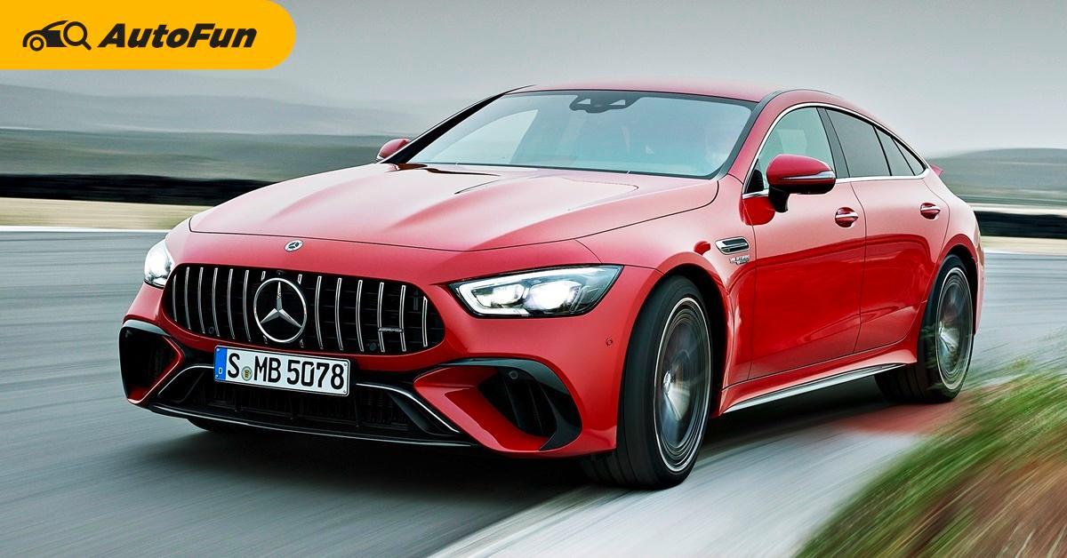 ไฮบริดสมรรถนะสูงรุ่นแรกจาก Mercedes-AMG มาพร้อม 843 แรงม้าและ 1,400 นิวตันเมตร กดทีมีวาร์ป!!! 01