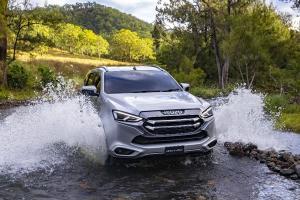 Isuzu รับซุ่มพัฒนาไฮบริด-อีวีให้ D-Max และ MU-X อัพสมรรถนะเครื่องยนต์ชน Ford Everest และ Toyota Fortuner