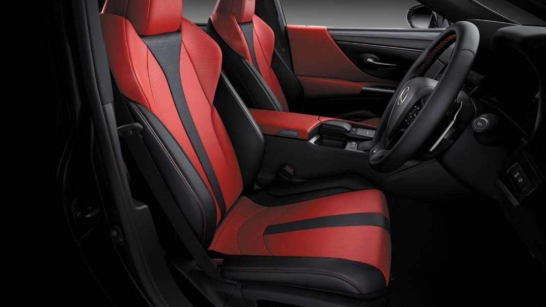 2021 Lexus ES 300h F Sport Interior 001