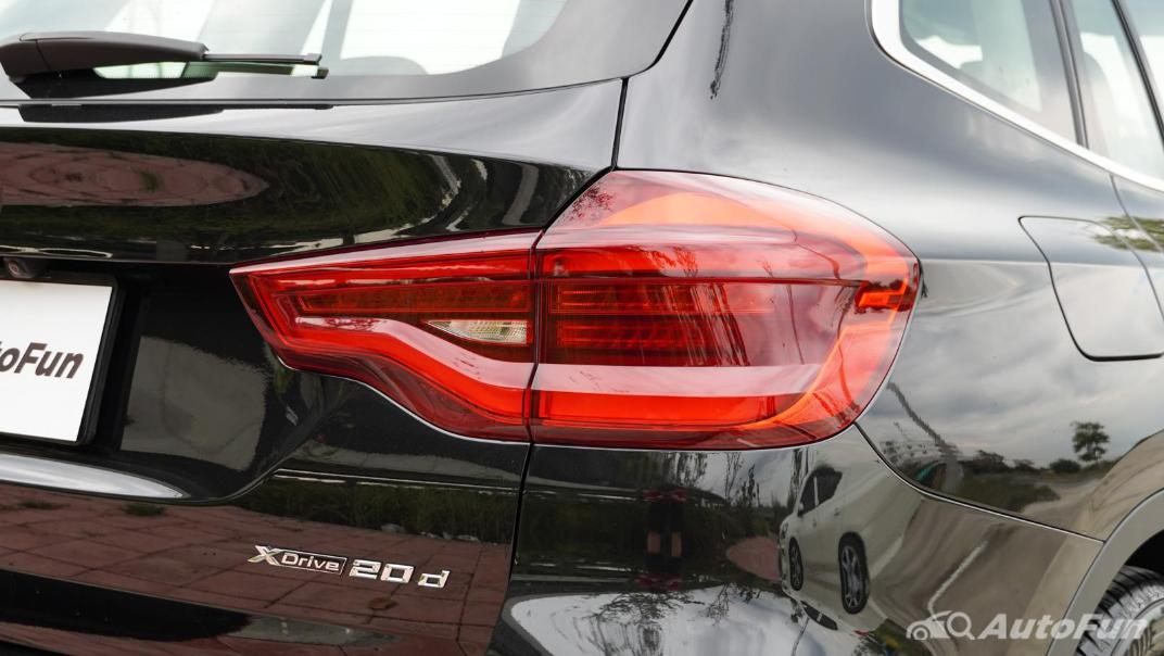 2020 2.0 BMW X3 xDrive20d M Sport Exterior 021
